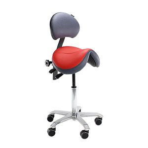 The Saddle Stool Has Anatomically Shaped That Tilts Pelvis And Ensures A Healthy Relaxed Back Posture Backrest Offers Extra Support