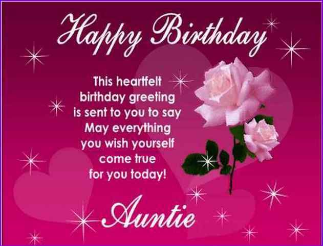 54 best aunt birthday images on pinterest happy birthday greeting birthday wishes for a aunt funnyg m4hsunfo