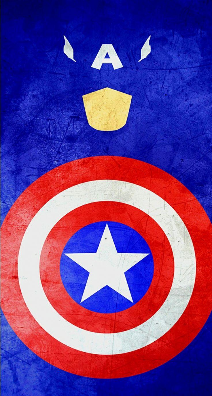 Wallpaper iphone superhero - Captain America Mobile Wallpaper Mobile9 Superheroes