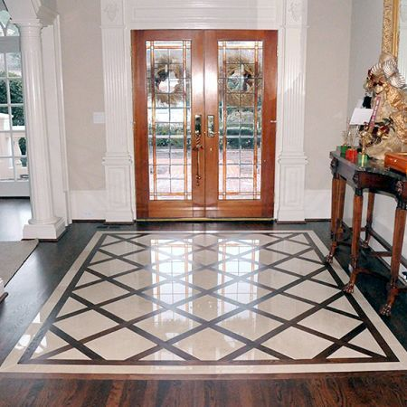 27 best great flooring images on pinterest flooring for Entrance flooring ideas