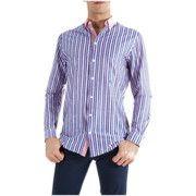 Camicie maniche lunghe Etro Camicia  Mod. 138146157 Blu/Rosso