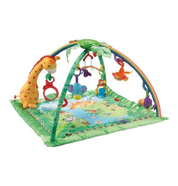 Fisher-Price Rainforest Erlebnisdecke K4562 von Mattel
