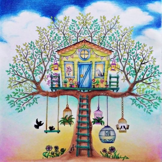 197 Best Images About Enchanted Forest Coloring Ideas On