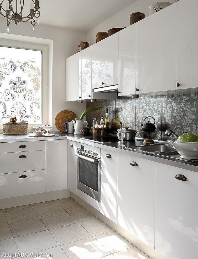 Kuchnia W Bloku Waska I Mala Najlepsze Inspiracje W Sieci Kitchen Small Interior Kitchen Cabinets