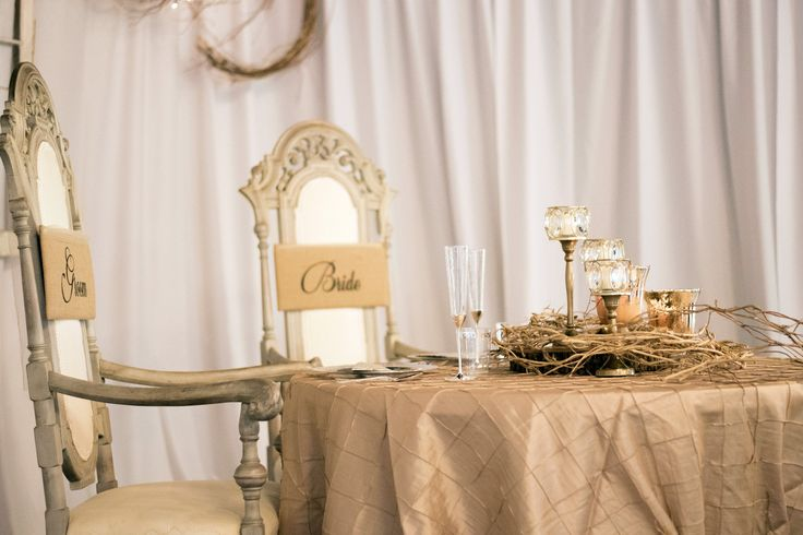 Gorgeous Bride U0026 Groom Table Setting On The Big Day. #SPARKevents  #SPARKphotography Http