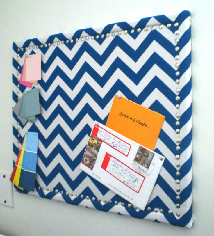 Delicious Spaces Diy Faux Nail Head Trimmed Cork Board