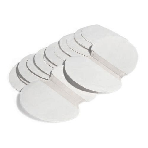 Best Sale 30pcs mat absorbent perspiration 110x120mm under the armpits White