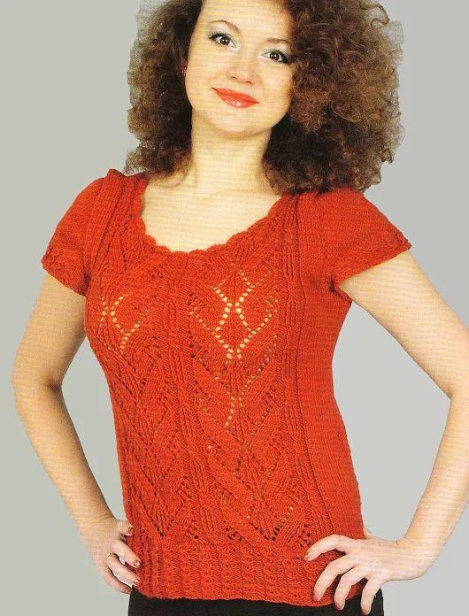 Mejores 569 imágenes de blusas en Pinterest | Blusas tejidas ...