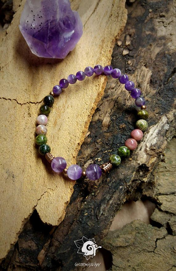 Hey, I found this really awesome Etsy listing at https://www.etsy.com/listing/571305736/mineral-bracelet-with-tourmaline