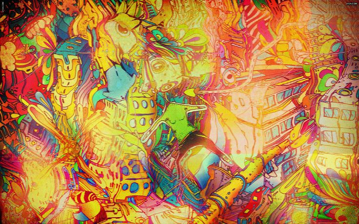 """Multicolor Artwork Desktopc1680x1050chd Wallpaper"""