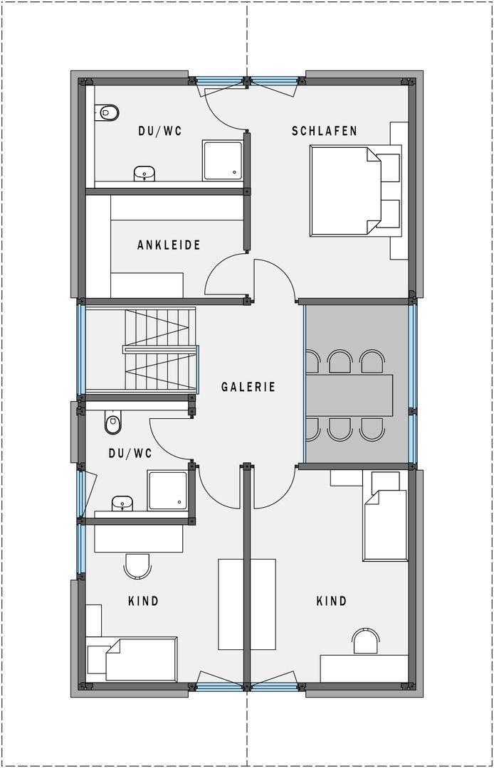 Modernes Fertighaus   Modulares System   HUF Haus Modum:   HUF HAUS