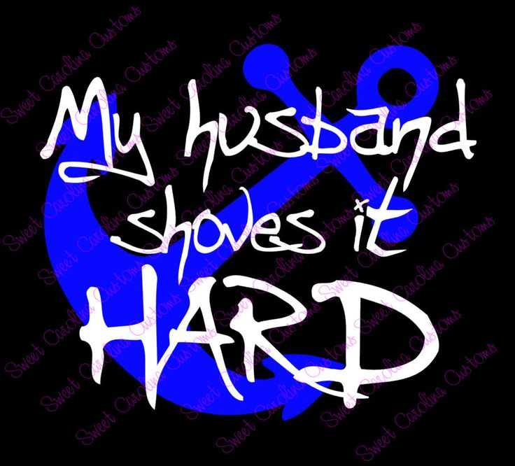 My Husband Shoves It Hard Towboater S Wife Car Decal Pinned By Pin4etsy Com