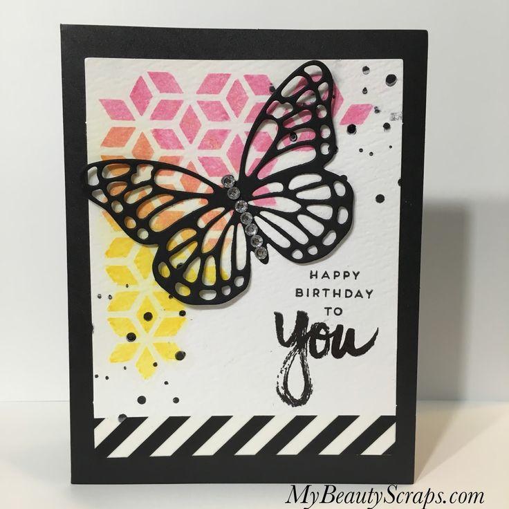 BeautyScraps: Alternative Card Idea #2: Stampin' Up! April 2017 Paper Pumpkin Kit - A Sara Thing