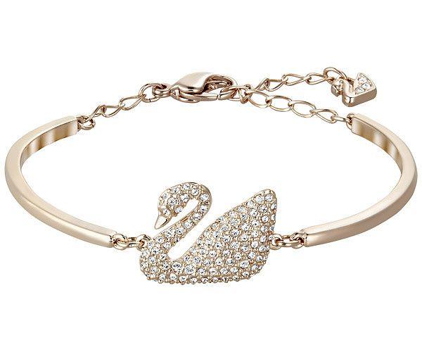 Swan Bangle - Jewelry - Swarovski Online Shop