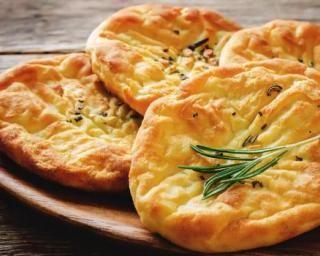Sympathique petits pains plats light et express. Délicieux pour le petit déjeuner.