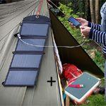 Il nuovo caricabatterie solare a 24W potrebbe essere la soluzione definitiva per quando ti avventuri ma, ahimè, vi si scaricano i telefoni: pensate che ne carica ben 3 alla volta!