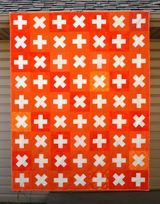 Amanda Jean @ #crazymomquilts made this GREAT math facts quilt!: Crosses Quilts, Quilts Patterns, Mom Quilts, Crazy Mom, Math Facts, Amanda Jeans, Orange Quilts, Facts Quilts, Modern Quilts