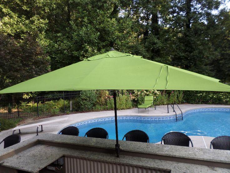 Best 25 outdoor umbrellas ideas on pinterest cushions for Restoration hardware outdoor umbrellas