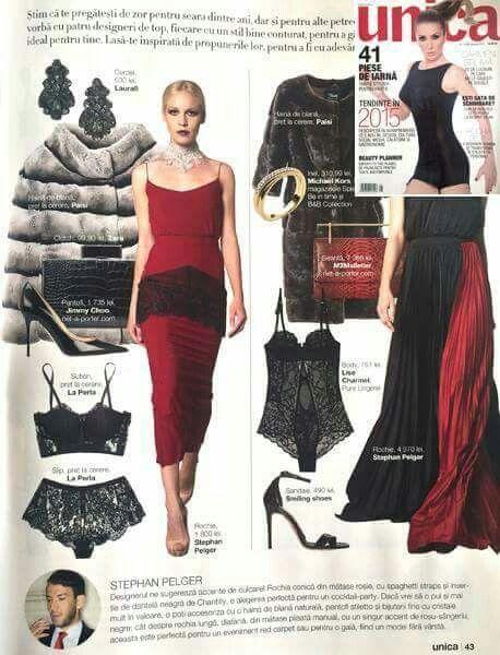 Païsi Furs in Unica magazine