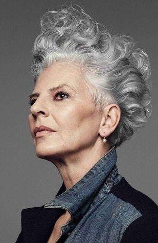 Frisuren Damen Kurz Graue Haare Wechseljahre Menopause
