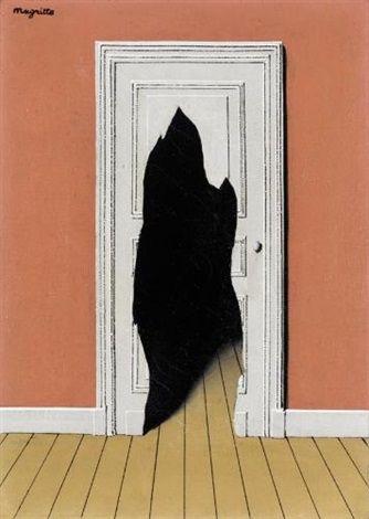 La réponse imprévue by René Magritte