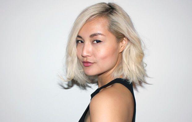 Hot Blond Asian 43