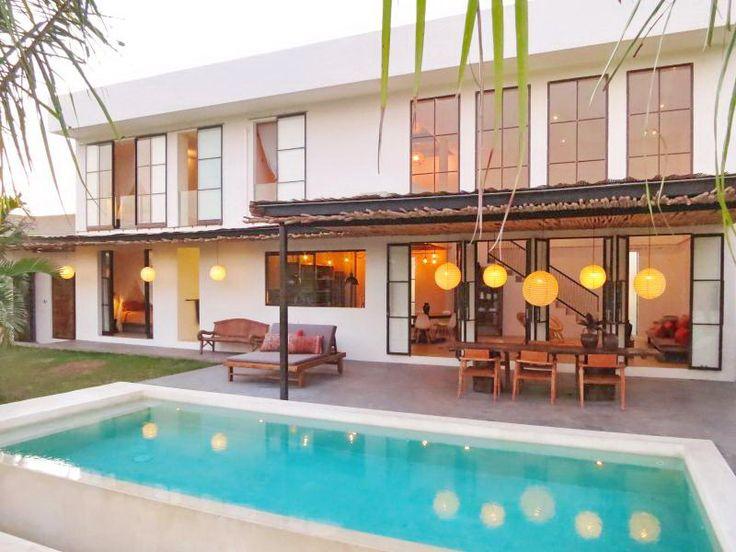 Villa Yali | 3 bedrooms | Canggu, Bali #modern #industrial #architecture