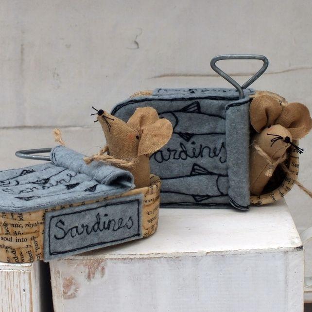 Sardine Tin Mouse House £22.00                                                                                                                                                                                 More