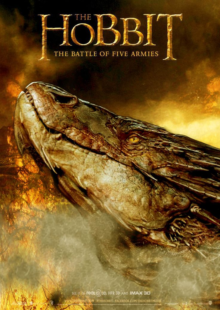 The Hobbit: The battle of Five Armies. Pardon me while I scream for ten more years