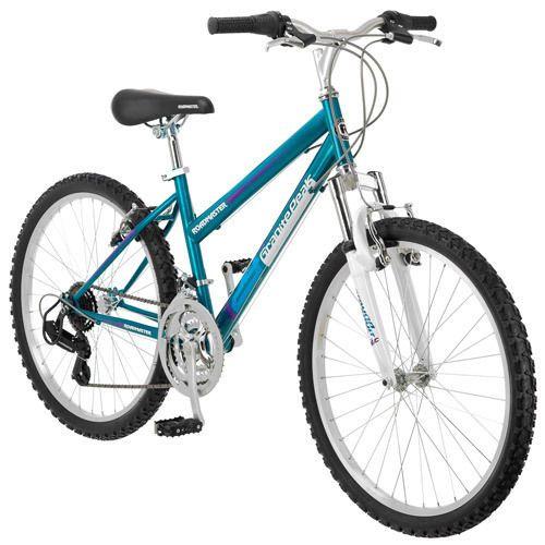 """Granite Peak 24"""" Girls Mountain Bike, Teal Free Shipping NEW"""