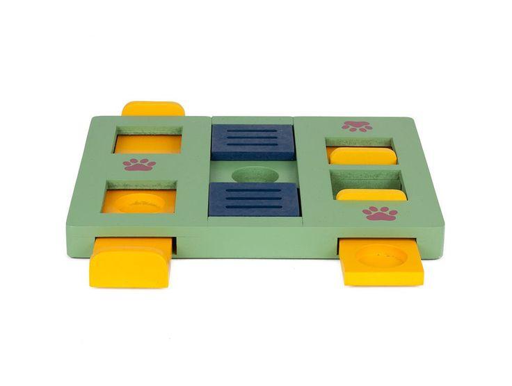 Little&Bigger Seek-a-Treat Box Puzzle spill - Hundeleker - Hund