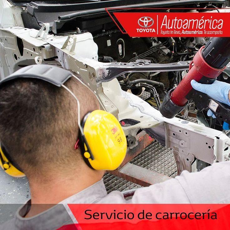 En #AutoaméricaPalacé encuentras tu taller especializado y el personal calificado para los servicios de carrocería de tu #Toyota. ¡Pide tu cita! https://goo.gl/kk8s3o