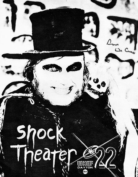 Anyone, who grew up in the Dayton Ohio area remembers Dr Creep and Shock Theater!!! It ran 1972-85. The Best!!!