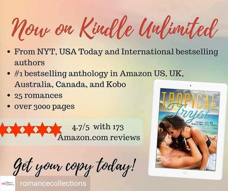 @Regranned from @romancecollections -  #TropicalTryst is now available in #KU  http://ift.tt/2x1ARJS  #romance #beachreads #summerreads #lovestories #anthologies #boxedset #regrann