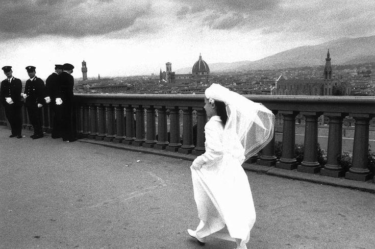 Piazzale Michelangelo Firenze 1962 di Gianni Berengo Gardin