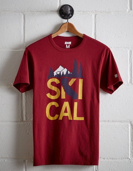 Tailgate Men's Ski Cal T-Shirt