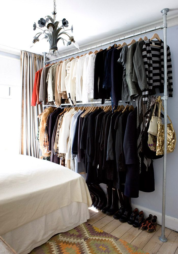 7 Signs It's Time To Clean Out Your Closet - The Problem: Your wardrobe physically doesn't fit into your closet.
