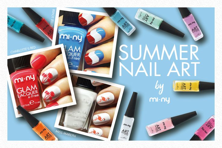 UNGHIE ORIGINALI CON LA SUMMER NAIL ART BY MI-NY!