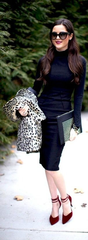 20 Stylish And Edgy Work Outfits For Winter 2013-2014 | Styleoholic