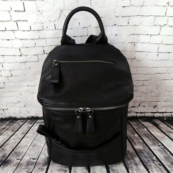 Brand Top high quality Genuine Leather School bag for Teenager Girls Laptop Bag Daily woman shoulder bag