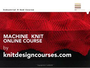 Machine Knit Online Course
