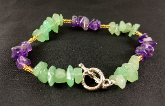 Handmade Crystal Bracelet for Quelling Nervous Energy