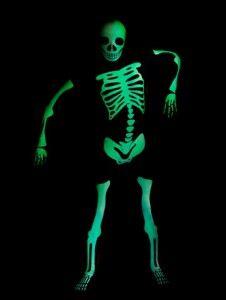 boys skeleton costume