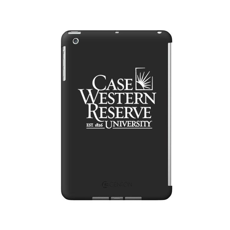 Case Western Reserve University Black iPad Shell, Classic V2 - iPad Mini