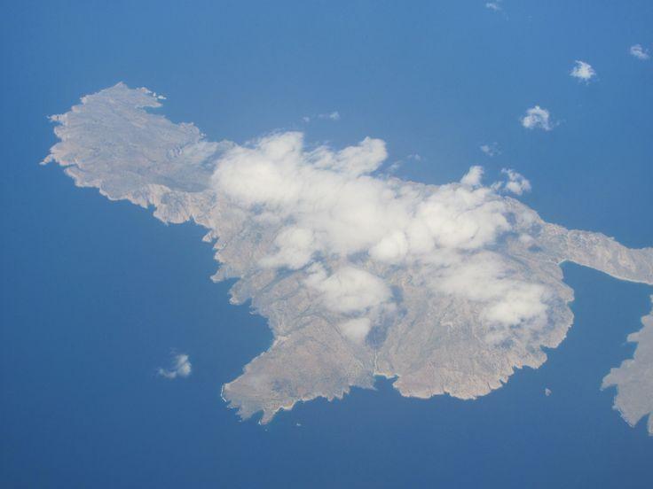 Wyspy greckie z lotu ptaka
