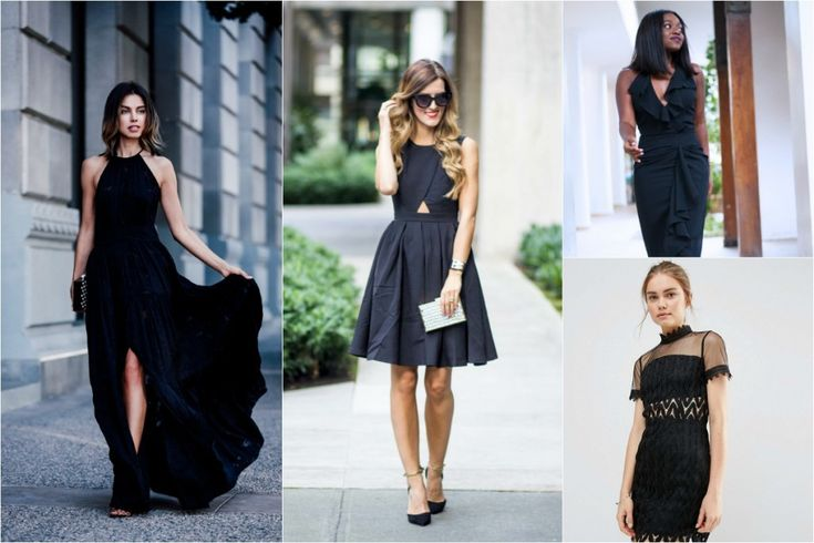 Black Wedding guest outfits-2
