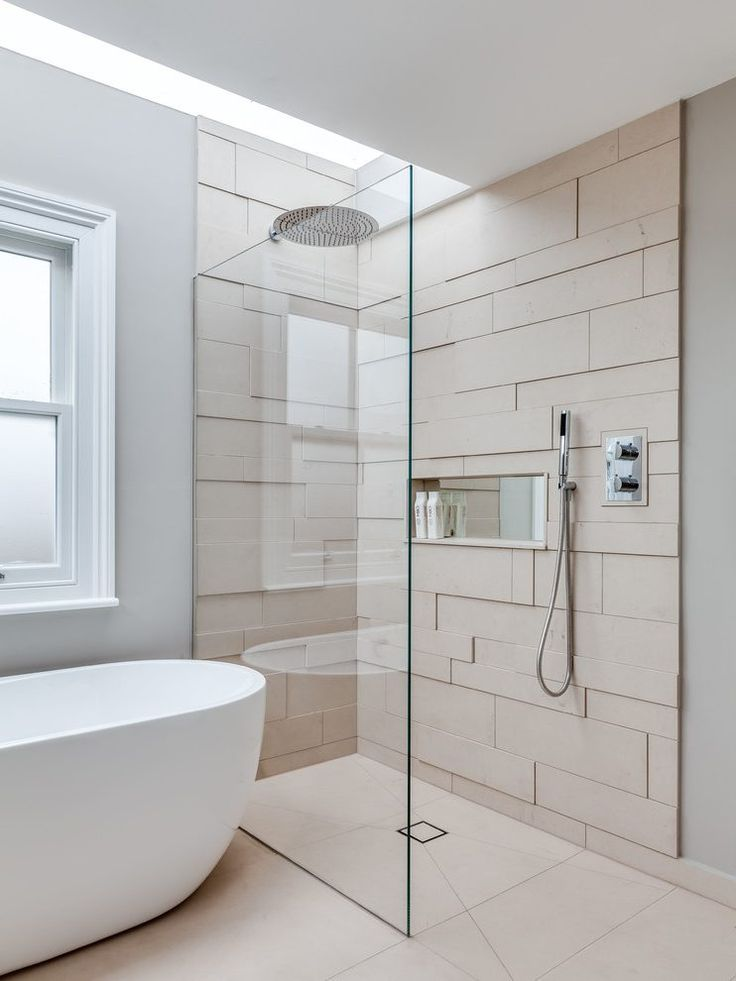 lifestyle tiles bathroom scandinavian with shower wooden organizers
