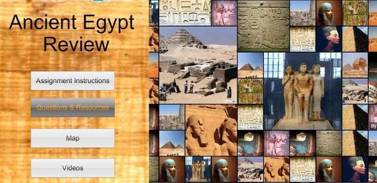 Travel Agent To Ancient Egypt Webquest