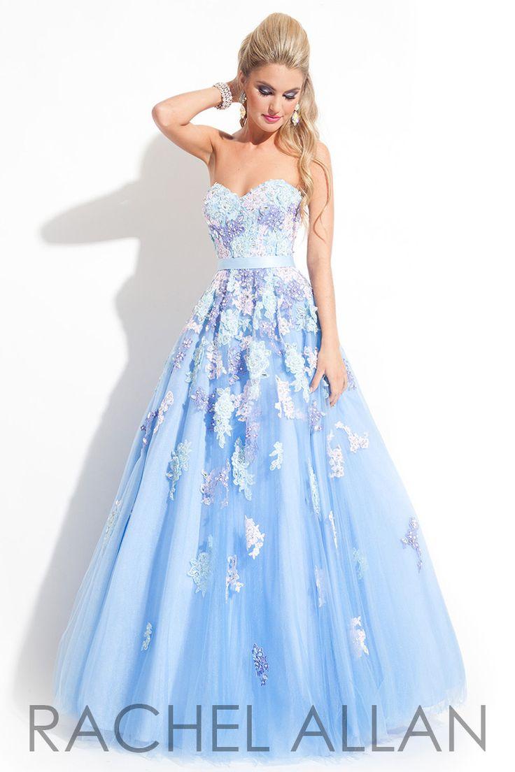 24 best Light Blue Ball Gown images on Pinterest | Midikleider ...