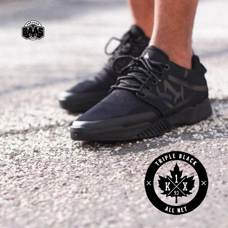 "#k1x #tripleblack #kixtripleblack #k1xallnet #allnet #sneakerbaas #baasbovenbaas  K1x All Net ""Triple Black"" - Shop now! - priced at 89,95 Euro!  For more info about your order please send an e-mail to webshop #sneakerbaas.com!"